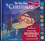img - for The Very First Christmas - Hallmark Press & Play Recordable Storybook book / textbook / text book