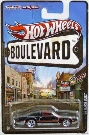 Hot Wheels 2012 Boulevard Series '84 Hurst Olds 1:64 Scale Die-cast Vehicle