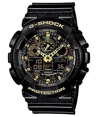 [カシオ]CASIO 腕時計 G-SHOCK カモフラージュダイアルシリーズ GA-100CF-1A9 メンズ [逆輸入モデル]: 腕時計通販