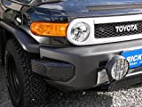 TOYOTA トヨタ FJクルーザー/フロントバンパープロテクター左右セット (ブラックゲルコート)