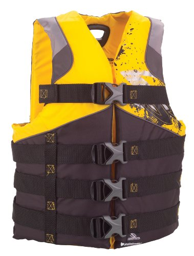 Stearns Men's Infinity Anti-Microbial Life Jacket(Yellow, Large/X-Large)