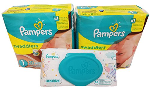 pampers-swaddlers-diapers-size-1-20-count-pack-of-2-total-of-40-pampers-pampers-sensitive-wipes-trav