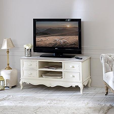 Country Esche Reihe–Große TV-Schrank mit Schubladen