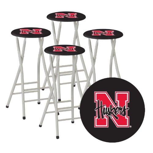 28 nebraska bar stools l8b4 university of nebraska logo bar