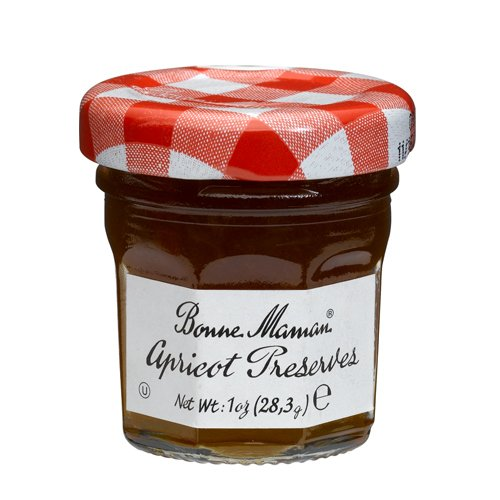Bonne Maman Apricot Preserve Mini Jars - 1 oz x 60 pcs Kosher
