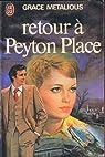 Retour � Peyton Place par Metalious