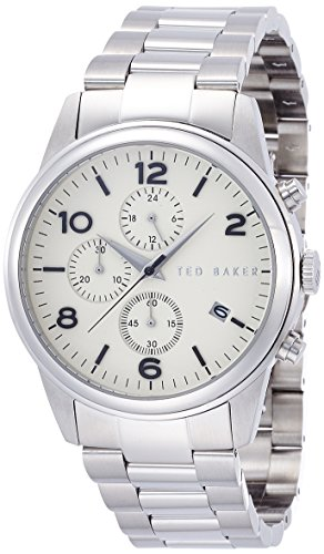 Ted Baker Round Dial Stainless Steel Men's watch #TE3058