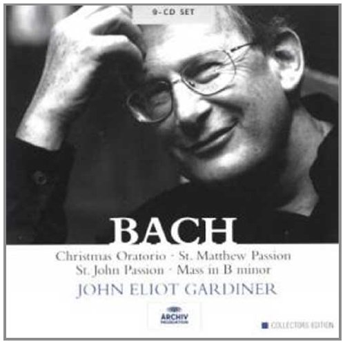 St Matthew Passion Mass B Min St John Passion Christmas Oratorio by J. S. Bach, John Eliot Gardiner, English Baroque Soloists and Monteverdi Choir