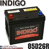 INDIGOバッテリー キャンター【型式KC-FE527系 1998年10月~ 4D33エンジン 寒冷地車】