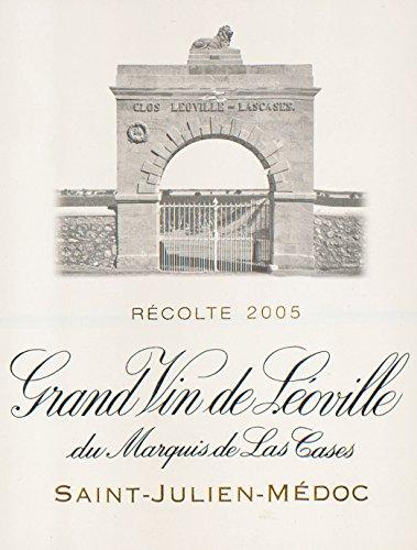 2005 Chateau Leoville Las Cases Saint Julien Bordeaux 750 Ml