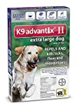 Bayer Advantix II, Extra Large Dogs, Over 55-Pound, 6-Month