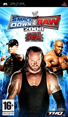 SmackDown Vs Raw 2008 (PSP) by THQ