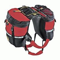 Mountainsmith Dog Back Pack Medium Red Backpack