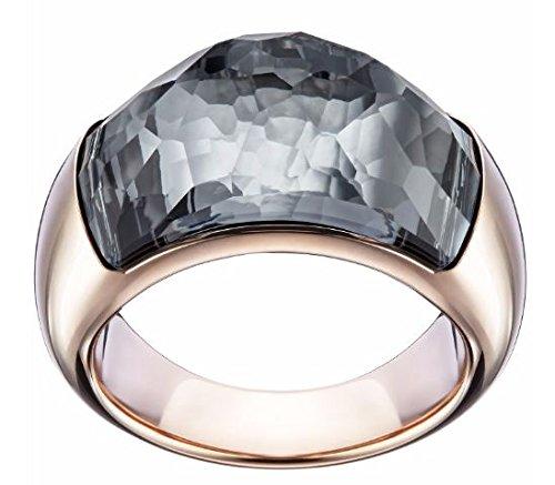 Swarovski Damen-Ring Dome Kristall grigio taglia 55 (17,5) - 5166258