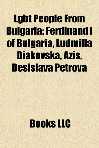 Lgbt People from Bulgaria