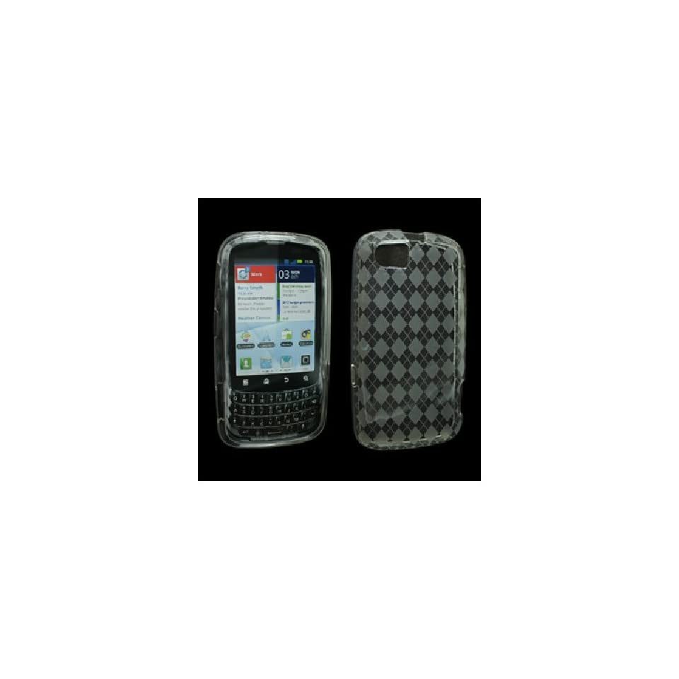 Clear Flex Cover Case for Motorola Admiral XT603 Cell Phones & Accessories