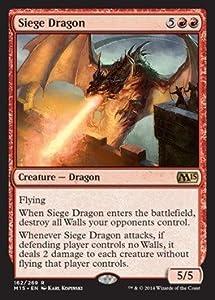 Magic: the Gathering - Siege Dragon (162/269) - Magic 2015