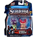 Slugterra Mini Figure 2-Pack Spinner & Bludgeon [Includes Code for Exclusive Game Items] by Animewild