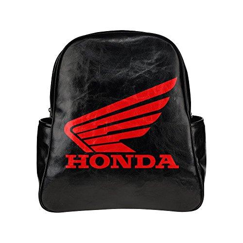 dorot-honda-logo-unisex-multi-pocket-shoulders-backpack