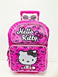 New Arrival Sanrio Hello Kitty Large Rolling Backpack and Hello Kitty Toothbrush Set