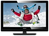 Philips 231TE4LB/00 Motivo 23 inch Full HD Display LCD Monitor with DTV Tuner, LED Backlight - Black