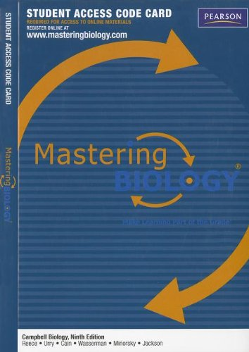 MasteringBiology -- Standalone Access Card -- for...