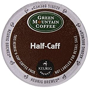 Green Mountain Coffee, Half-Caff Coffee K-Cups for Keurig Brewers