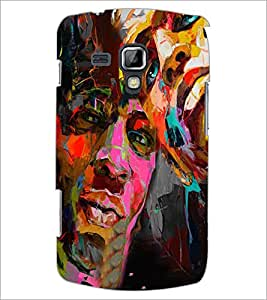 PrintDhaba Graffiti D-4960 Back Case Cover for SAMSUNG GALAXY S DUOS 2 S7582 (Multi-Coloured)