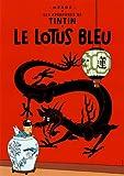 Poster Moulinsart Album de Tintin: Le lotus bleu 22040 (70x50cm)...