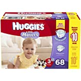 Huggies Little Movers Diapers - Size 3 - 68 ct