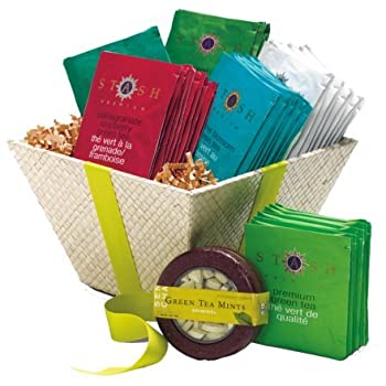 Green Teas Gift Basket