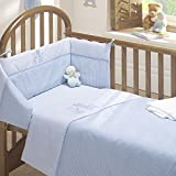 Time to Sleep 3pc Cot Bed Bale - Quilt, Bumper, Fitted Sheet