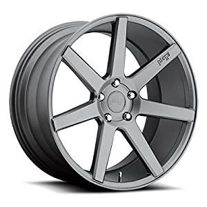 Niche Verona 19 Gunmetal Wheel / Rim 5x120 with a 35mm Offset and a 72.6 Hub Bore. Partnumber M149198521+35