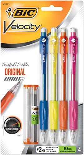 bic-velocity-mechanical-pencil-medium-point-07-mm-4-count