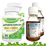 Morpheme Arthritis Support + Arthcare Oil For Back Pain, Joint Pain & Arthritis (2 Combo Pack)