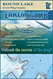 Lakemaster LPMNNRP12-02 Paper Map Round Lake N (Crow Wing)