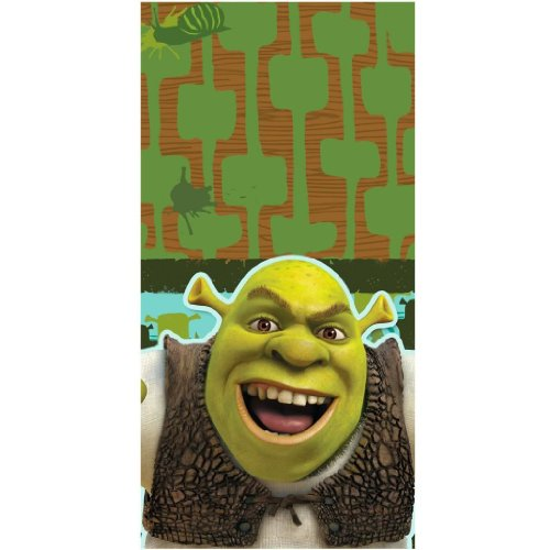 "Shrek Forever After High Quality Durable Plastic Material Tablecover, measures 54"" x 102 inches Jouets, Jeux, Enfant, Peu, Nourrisson"