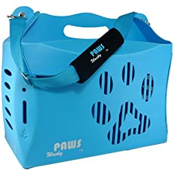 Wacky Paws ECO Pet Carrier, V1, Large, Blue