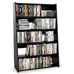 Sonax DV-3000 Fillmore Midnight Black Media Storage Shelf