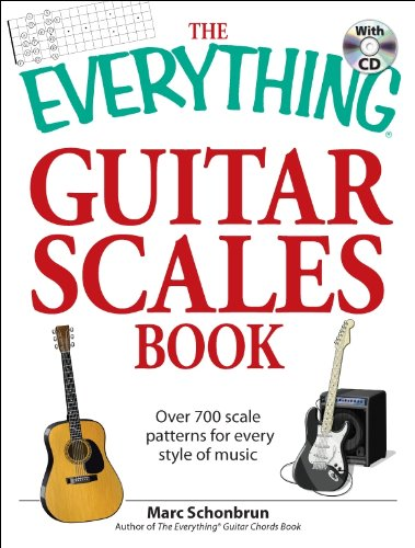 The Everything Guitar Scales Book with CD: Over 700 scale patterns for every style of music (Everything (Music))