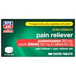 Rite Aid Pain Reliever/Pain Reliever Aid, Headache Formula, Extra Strength, Coated Tablets, 100 ct