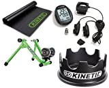 New 2010 Green Kurt Kinetic Road Machine with Riser Ring, Power Computer & Floor Mat Package Image