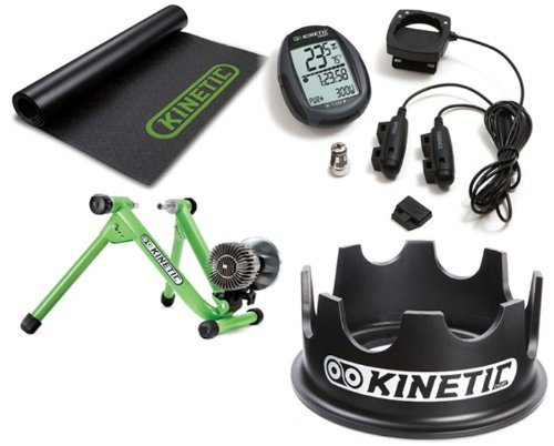 New 2010 Green Kurt Kinetic Road Machine with Riser Ring, Power Computer & Floor Mat Package