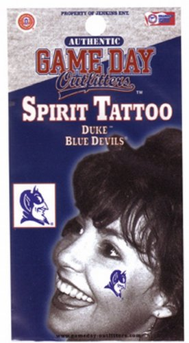 NCAA Duke Blue Devils Tattoo at Amazon.com