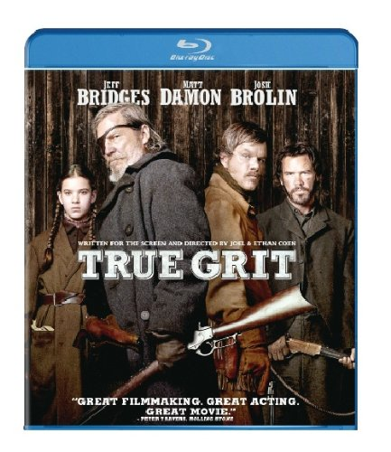 Cover art for  True Grit (Two-Disc Blu-ray/DVD Combo)