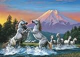 2014ピース 明け富士と跳ね馬