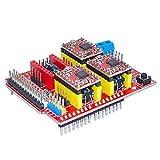 New CNC shield V3 Arduino engraving machine expansion board / 3D printer A4988 driver board by Keyes [並行輸入品]