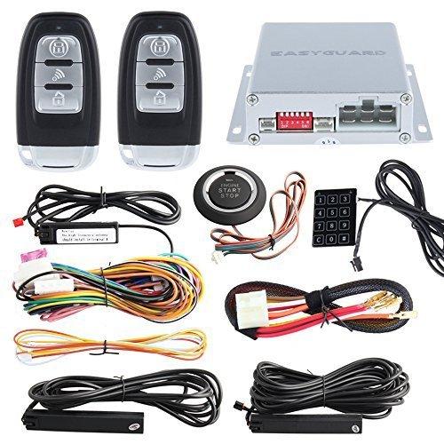 easyguard smart key rfid pke car alarm system remote. Black Bedroom Furniture Sets. Home Design Ideas