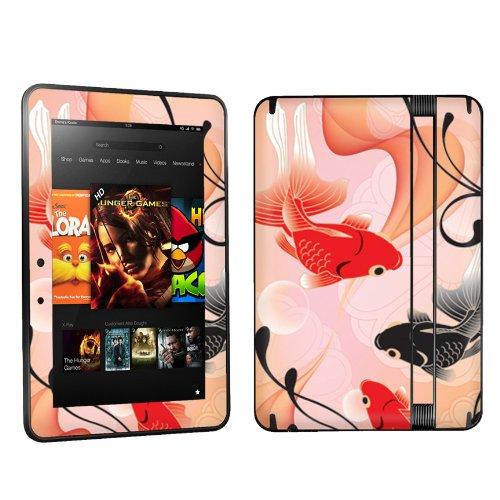 Amazon Kindle Fire HD 7 inch Tablet Decal Vinyl Skin - Japan Kingyo Goldfish By Skinguardz