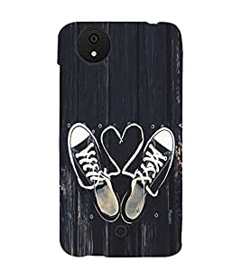 Love Laces 3D Hard Polycarbonate Designer Back Case Cover for Micromax Canvas Android A1 AQ4501 :: Micromax Canvas Android A1